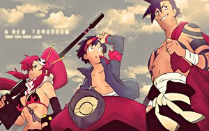 Rating: Safe Score: 31 Tags: bikini_top bondage breasts clouds goggles kamina long_hair male purple_hair red_hair scarf short_hair simon sky tagme_(artist) tengen_toppa_gurren_lagann weapon yellow_eyes yoko_littner User: RyuZU
