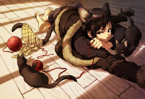 Rating: Safe Score: 102 Tags: animal animal_ears cat durarara!! orihara_izaya tail User: HawthorneKitty