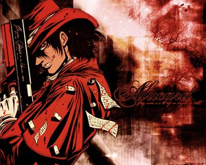 Rating: Safe Score: 11 Tags: alucard gun hat hellsing red_eyes weapon User: happygestapo