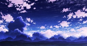 Rating: Safe Score: 15 Tags: aoha_(twintail) clouds nobody original polychromatic scenic sky User: FormX