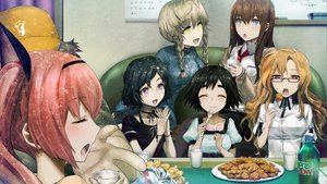 Rating: Safe Score: 49 Tags: amane_suzuha faris_nyannyan game_cg hashida_itaru huke jpeg_artifacts kiryuu_moeka makise_kurisu shiina_mayuri steins;gate urushibara_ruka User: Tensa