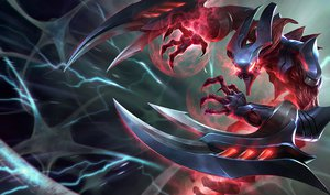 Rating: Safe Score: 58 Tags: armor league_of_legends nocturne_(league_of_legends) weapon User: juanfreak