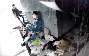 Rating: Safe Score: 35 Tags: durarara!! orihara_izaya ryuugamine_mikado User: HawthorneKitty