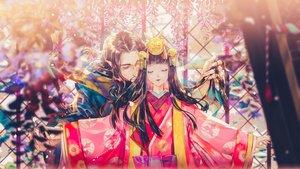 Rating: Safe Score: 40 Tags: japanese_clothes long_hair male onmyouji say_hana tagme_(character) User: RyuZU