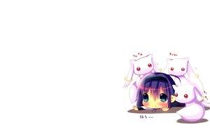 Rating: Safe Score: 81 Tags: akemi_homura blush cat_smile chibi hina_hina kyuubee long_hair mahou_shoujo_madoka_magica purple_eyes purple_hair red_eyes white User: SciFi