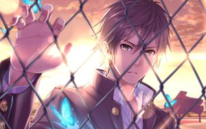 Rating: Safe Score: 83 Tags: all_male butterfly instrument jpeg_artifacts male nidy-2d- original piano sunset twintails User: megaki11