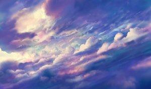 Rating: Safe Score: 52 Tags: bou_nin clouds nobody original polychromatic sky User: RyuZU