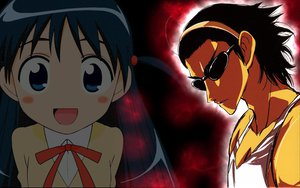 Rating: Questionable Score: 21 Tags: chibi harima_kenji school_rumble tsukamoto_tenma User: darkrulerx