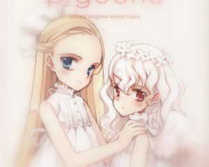 Rating: Safe Score: 16 Tags: angel blonde_hair blue_eyes dress kawasaki_yukina koishikawa_kohane littlewitch lolita_fashion long_hair oyari_ashito period red_eyes white_hair wings User: Wargamer234