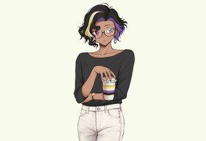 Rating: Safe Score: 16 Tags: alex_(pas_(paxiti)) bicolored_eyes black_hair drink original pas_(paxiti) short_hair wristwear User: otaku_emmy
