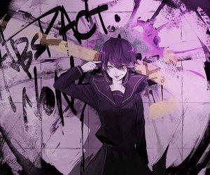 Rating: Safe Score: 68 Tags: blue_eyes graffiti light non7 polychromatic purple_hair school_uniform short_hair vocaloid yagami_light User: FormX