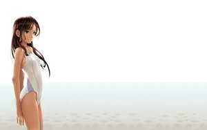 Rating: Safe Score: 190 Tags: brown_eyes brown_hair katahira_masashi long_hair original swimsuit User: SciFi