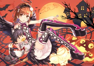 Rating: Safe Score: 47 Tags: animal animal_ears bat bloomers brown_eyes brown_hair cape cat collar halloween halo hat headband headdress kamijou_touma male misaka_mikoto moon pumpkin raika9 ribbons short_hair signed tail tattoo thighhighs to_aru_kagaku_no_railgun to_aru_majutsu_no_index upskirt wings witch_hat User: RyuZU