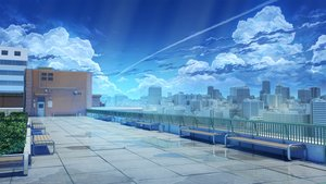 Rating: Safe Score: 110 Tags: arsenixc building city clouds landscape leaves love_money_rock'n'roll nobody original realistic reflection rooftop scenic sky vvcephei water watermark User: RyuZU