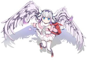 Rating: Safe Score: 118 Tags: aliasing aqua_eyes dress headband horns kamui_kanna kobayashi-san_chi_no_maid_dragon loli purple_hair tagme_(artist) thighhighs twintails wings User: gnarf1975