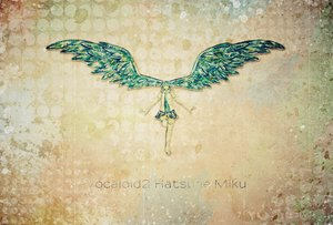 Rating: Safe Score: 18 Tags: hatsune_miku nonogawa vocaloid wings User: HawthorneKitty