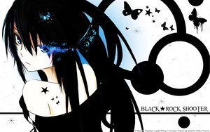 Rating: Safe Score: 110 Tags: black_hair black_rock_shooter blue_eyes kuroi_mato surolen tattoo User: Maboroshi