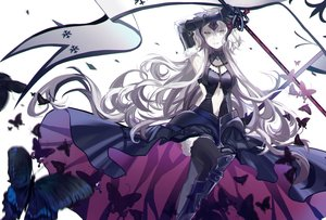 Rating: Safe Score: 47 Tags: animal armor butterfly chain elbow_gloves fate/grand_order fate_(series) gloves headdress jeanne_d'arc_alter jeanne_d'arc_(fate) long_hair navel sword thighhighs weapon white_hair yellow_eyes zgxuke User: BattlequeenYume