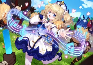 Rating: Safe Score: 39 Tags: barbara_pegg blonde_hair blue_eyes genshin_impact music pantyhose tsubasa_tsubasa twintails User: Dreista
