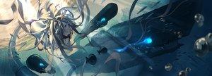 Rating: Safe Score: 74 Tags: animal anthropomorphism fish fujita_(condor) jpeg_artifacts kantai_collection submarine_hime underwater water User: BattlequeenYume
