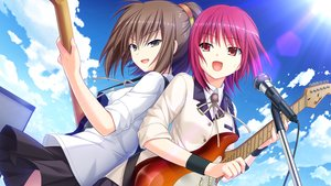 Rating: Safe Score: 46 Tags: 2girls angel_beats! game_cg hisako iwasawa_masami key na-ga User: Tensa