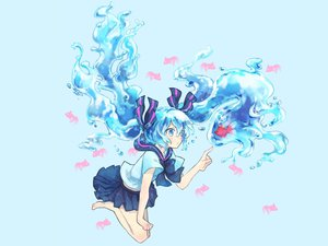 Rating: Safe Score: 53 Tags: animal bottle_miku fish hatsune_miku jpeg_artifacts masunosushi vocaloid User: BoobMaster