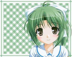 Rating: Safe Score: 11 Tags: blush green_hair touyama_midori yoake_mae_yori_ruri_iro_na User: w7382001