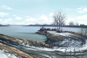Rating: Safe Score: 90 Tags: clouds dzun landscape nobody scenic sky snow tree water winter User: Dzun