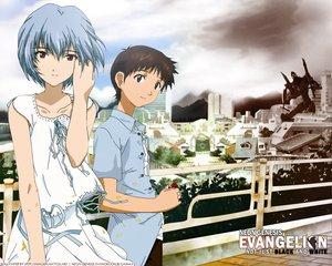 Rating: Safe Score: 24 Tags: ayanami_rei ikari_shinji neon_genesis_evangelion User: Oyashiro-sama