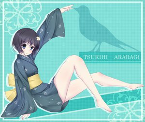 Rating: Safe Score: 43 Tags: araragi_tsukihi black_hair blue_eyes japanese_clothes kimono monogatari_(series) nisemonogatari User: HawthorneKitty