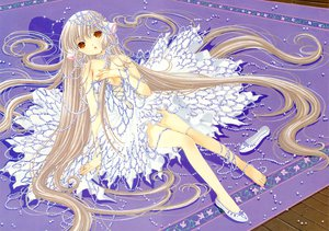 Rating: Safe Score: 37 Tags: chii chobits clamp purple scan User: Xtea
