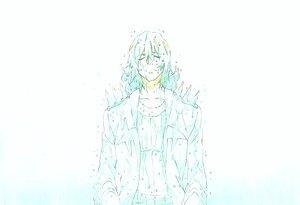 Rating: Safe Score: 23 Tags: all_male gmgor kill_la_kill male necklace sanageyama_uzu short_hair sketch wet white User: STORM