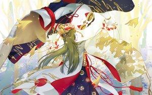 Rating: Safe Score: 34 Tags: doll green_hair kairaishi_(onmyouji) long_hair naive_(day) onmyouji puppet User: RyuZU