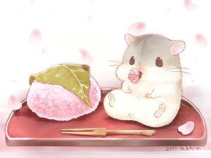 Rating: Safe Score: 58 Tags: animal cherry_blossoms flowers food nobody original petals yutaka_kana User: otaku_emmy