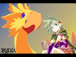 Rating: Safe Score: 13 Tags: chocobo final_fantasy final_fantasy_iv rydia User: Oyashiro-sama