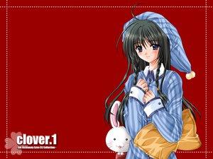 Rating: Safe Score: 6 Tags: nishimata_aoi pajamas red User: Oyashiro-sama