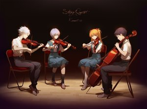 Rating: Safe Score: 123 Tags: asukaziye ayanami_rei group ikari_shinji instrument male nagisa_kaworu neon_genesis_evangelion school_uniform soryu_asuka_langley violin User: luckyluna
