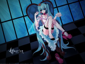 Rating: Questionable Score: 121 Tags: dark hatsune_miku signed vocaloid User: Zloan