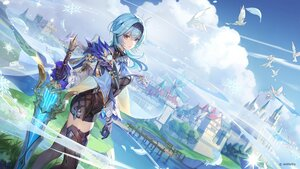 Rating: Safe Score: 110 Tags: animal bird building eula_lawrence genshin_impact landscape scenic sword tagme_(artist) water weapon windmill User: BattlequeenYume