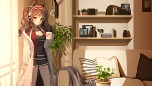 Rating: Safe Score: 35 Tags: angelina_(arknights) animal_ears arknights re-leaf twintails User: Dreista