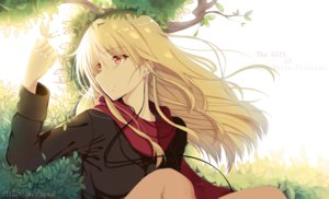 Rating: Safe Score: 171 Tags: blonde_hair butterfly headphones hewsack long_hair sakura-sou_no_pet_na_kanojo scarf shiina_mashiro tree User: Maboroshi