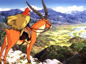 Rating: Safe Score: 7 Tags: ashitaka ghibli mononoke_hime User: Oyashiro-sama