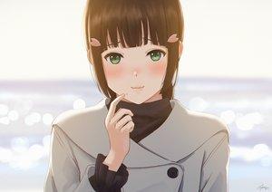 Rating: Safe Score: 27 Tags: black_hair blush close green_eyes kurosawa_dia love_live!_school_idol_project love_live!_sunshine!! papi_(papiron100) signed User: sadodere-chan