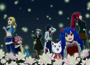 Rating: Questionable Score: 13 Tags: animal blonde_hair blue_hair bluesnowcat bow breast_hold breasts cat charle_(fairy_tail) dress erza_scarlet fairy_tail flowers gray_fullbuster group happy_(fairy_tail) hat juvia_loxar long_hair lucy_heartfilia male natsu_dragneel navel pantyhose pink_hair ponytail red_hair scarf short_hair skirt tattoo thighhighs twintails waifu2x wendy_marvell User: RyuZU