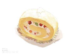 Rating: Safe Score: 21 Tags: animal cake cat food fruit hakuchizu_(jedo) nobody original signed strawberry watermark white User: otaku_emmy