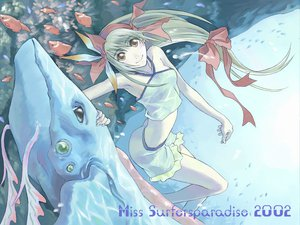 Rating: Questionable Score: 9 Tags: animal fish miss_surfersparadise tagme User: Oyashiro-sama