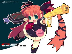 Rating: Safe Score: 7 Tags: gagraphic gun logo watermark weapon zankuro User: Oyashiro-sama