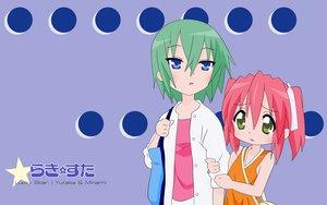 Rating: Safe Score: 6 Tags: iwasaki_minami kobayakawa_yutaka lucky_star User: 秀悟