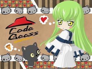 Rating: Safe Score: 7 Tags: animal cat cc chibi code_geass food pizza signed vector watermark User: Oyashiro-sama