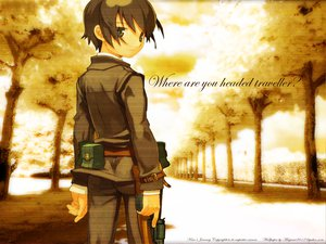 Rating: Safe Score: 6 Tags: kino_no_tabi kinos_journey kuroboshi_kouhaku User: Oyashiro-sama